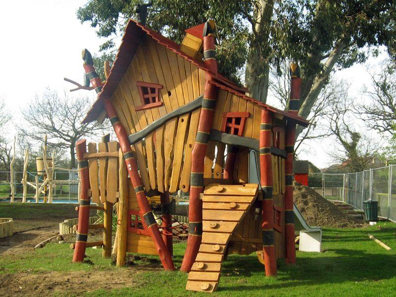 Детские площадки из дерева своими руками фото