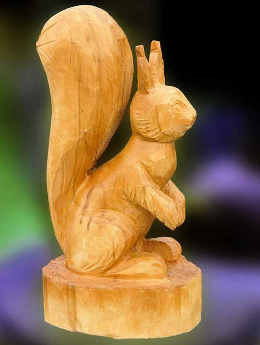 Как сделать фигурку из дерева дома