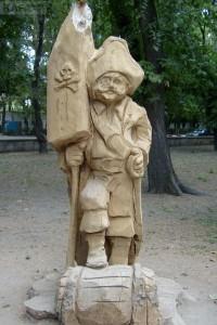 Пират из дерева